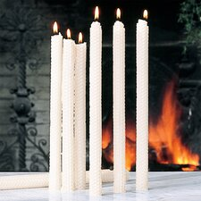 using beeswax candles is one of my tips on improving indoor air quality
