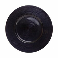 "Ripple 13"" Glass Charger Plate (Set of 4)"