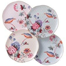 Harlequin Cuckoo Tea Plates (Set of 4)