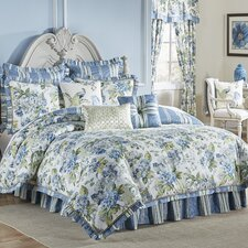 Waverly Floral Engagement 4 Piece Bedding Set