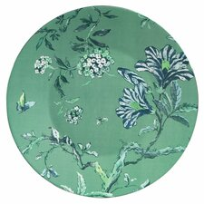 "Chinoiserie Green 9"" Plate"