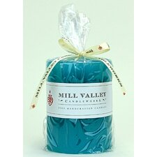 Floral Seaside Scented Pillar Candle