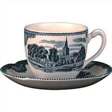 Old Britain Castles Blue Teacup (Set of 6)