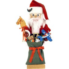 Santa and Toys Nutcracker