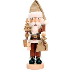 Santa with Christmas Tree Nutcracker