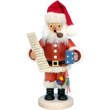 Santa with Wish List Incense Burner