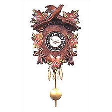 Battery Operated Carved Wall Clock