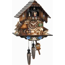 Engstler Weight-Driven Cuckoo Wall Clock