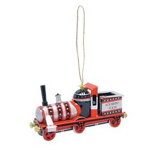 Tin Locomotive Ornament