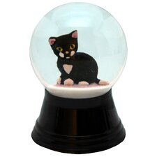 Perzy Small Kitten Snow Globe