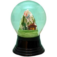 Perzy Cottage in the Alps Snow Globe