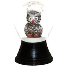 Perzy Mini Owl Snowglobe