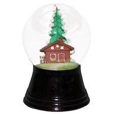 Perzy Small Chalet Snow Globe