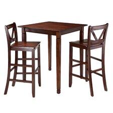 Kingsgate 3 Piece Pub Table Set