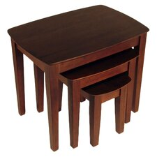 3 Piece Nesting Table Set
