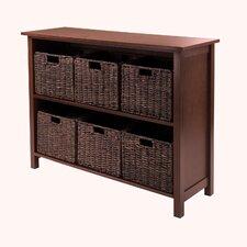 Granville 6 Drawers Storage Shelf