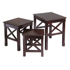 Xola 3 Piece Nesting Tables