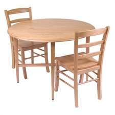 Basics 3 Piece Dining Set