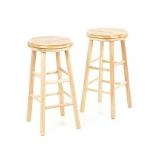 "25"" Swivel Bar Stool (Set of 2)"