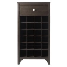 Ancona Modular 24 Bottle Tabletop Wine Cabinet