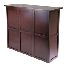 Newport Bar Cabinet with Wine Storage