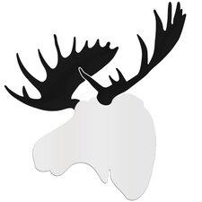 Wildlife Contemporary Moose  by Adam Schwoeppe Wall Art