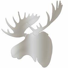 Wildlife Metallic Moose  by Ansel Adams Wall Art