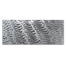 Metal Wall Art 'Polar Encapsulation' Original Modern Metal Artwork