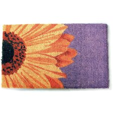 Handmade One Sunflower Doormat