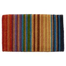 Handmade Rainbow Extra Thick Doormat