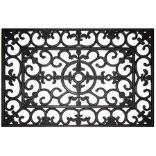 Handmade Fleur Di Lys Doormat