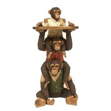 Stacking Monkey Service End Table