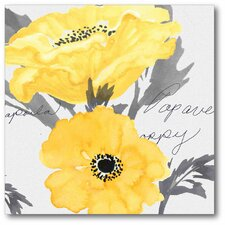 Poppy I Gallery Wrapped Canvas