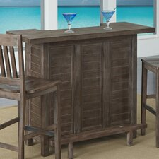 Barnside Bar Set with Wine Storage