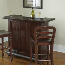 Colonial Classic Bar with Wine Storage