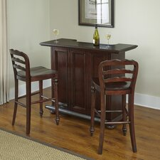 Colonial Classic Bar Set with Wine Storage