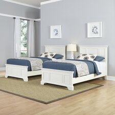 Naples Panel 3 Piece Bedroom Set (Set of 2)