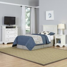 Naples Panel 3 Piece Bedroom Set