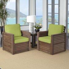 Barnside 3 Piece Deep Seating Group with Cushions