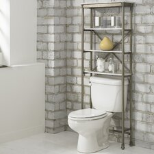 "Orleans 25"" x 64"" Over the Commode Stand"