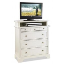 "Naples 4 Drawer TV 36"" Media Chest"