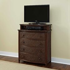 Marco Island 4 Drawer Media Chest
