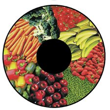 Fruits and Vegetable Effect Wheel