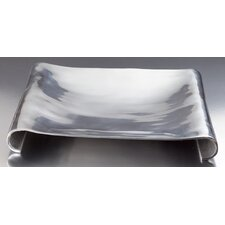 Square Scroll Tray