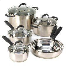 Deluxe 10 Piece Cookware Set
