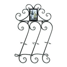 Flourish 3 Bottle Wall Mount Wine Rack