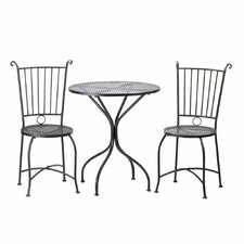 3 Piece French Café Bistro Set