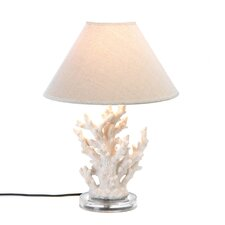 "Undersea 18.62"" H Table Lamp with Empire Shade"
