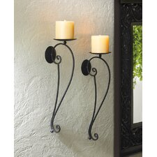 Verve Iron Candle Sconce (Set of 2)