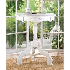 Ornate Shabby Elegance End Table